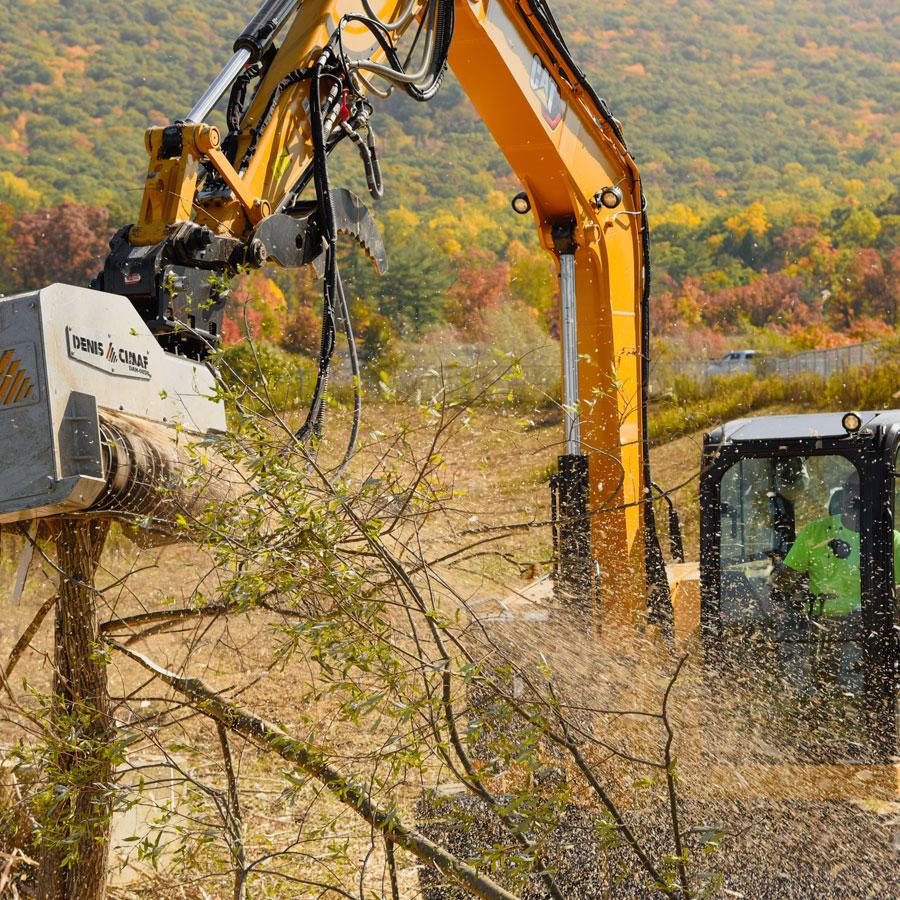 Forestry Mulching Machine